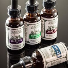 Humboldt Apothecary tinctures for #brainhealth , #Inflammation #insomnia and cramps!