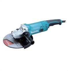 Makita GA9050R01 Angle Grinder Most compact in its class. Small and rotatable gear housing. Large trigger switch. Lightweight. With anti-restart function For More Details: http://www.mrthomas.in/makita-ga9050r01-angle-grinder_68