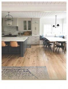 modern farmhouse kitchen, eclectic boho kitchen, Persian kitchen rugs #kitchenlighting