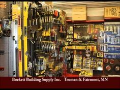 Truman & Fairmont Minnesota's Boekett Building Supply on Our Story's The Celebrities