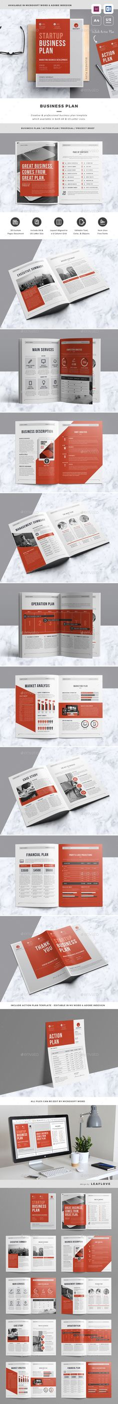 Professional Business Plan Template - Miscellaneous Print - company plan template