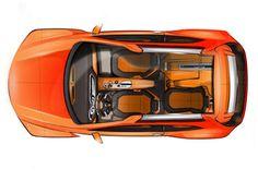 Seat Tribu Concept - Interior drawing