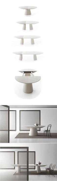 Tavolo allungabile dal design moderno n.12