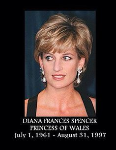 1997 ~ Princess Diana ~ Just one of many memorials to Diana.