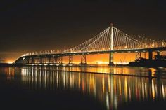 Congrats to The Bay Bridge as it completes its transformation to LED Lighting!