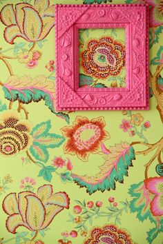 put a frame around a favorite feature in fabulous fabric...that's a tongue twister and an eye popper.