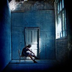 Blue Room / Griet-pearl