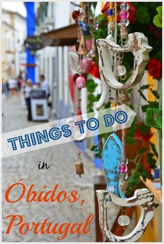 Wander cobblestone streets, explore a medieval castle, walk along fortified city walls, stroll along Rua Direita (main street), and more THINGS TO DO in Obidos, Portugal.