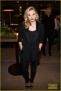 Chloe Moretz Hangs with 'Carrie' Pal Ansel Elgort at TIFF Party!   chloe moretz ansel elgort carrie tiff party 2014 04 - Photo