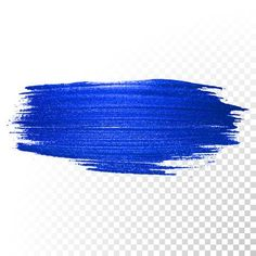 Illustration of Deep blue watercolor brush stroke. Vector oil paint smear line on transparent background vector art, clipart and stock vectors. Birthday Background Images, Photo Background Images Hd, Brush Background, Textured Background, Abstract Shapes, Pics Art, Image Hd, Brush Strokes, Clip Art