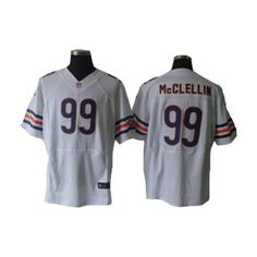 Chicago Bears #99 Shea McClellin Nike Elite Stitched jersey in White