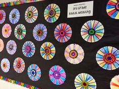 Radial Plate Weaving - Art with Mrs. 3rd Grade Art Lesson, 4th Grade Art, Grade 3, Third Grade, Weaving Projects, Weaving Art, Art Projects, Textiles, Arte Linear