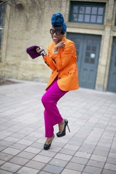 June got it right!!!!!!!! #JUNEAMBROSE. Orange is the color this season it looks like. Where can I find some great plus size fashion with colors like these?