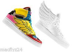 Jeremy Scott WHITE wings sneakers 2.0