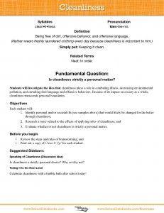 Worksheets education character pdf