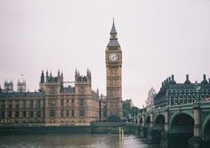 Big Ben, London - photos really don 't do Big Ben justice. It is breathtakingly beautiful in person.