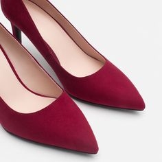 HIGH HEEL COURT SHOES-Shoes-TRF | ZARA United States