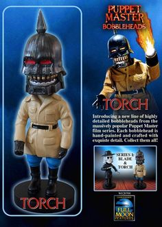 Bobblehead: Torch from Puppet Master