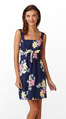 Lilly Pulitzer Avaline dress in Bright Navy Lady Loves