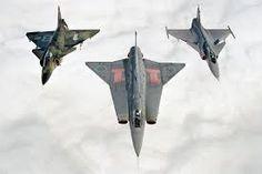 Viggen, Draken e Gripen - Sweden Air Force