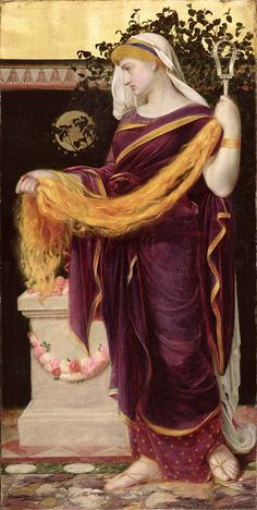 (Anthony Frederick Augustus Sandys), 1829-1904,Berenice, Queen of Egypt 1867