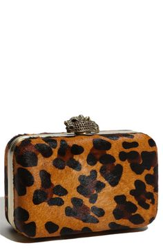 House of Harlow 1960 'Orlina' Box Clutch $225. I would love a clutch box sometime.