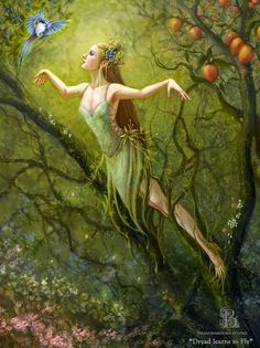 Dryad Learns to Fly - Shadowbrooke Studio