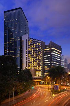 Magic Hour Hotel Exterior, The Harbourview, Wanchai, Hong Kong