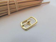 16749ecad54 5 petite boucle de ceinture pour lanière de max 8mm métal Petites Boucles