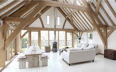 ❧ Renovated barn wood and stone ! <3