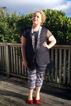 But today was so pretty I just had to grab some photos. I could have called this post 'Monochrome Pattern Madness from… Curvy Fashion, Plus Size Fashion, 28 February, Monochrome Pattern, Emma Rose, My Size, Style Me, Curves, Ootd