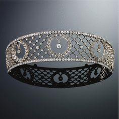 DIAMOND TIARA, LATE 19TH CENTURY - Sotheby's