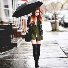 From todays outfit post on le-happy.com ☔️☔️☔️