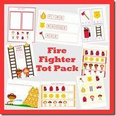 Firefighter Pack from LittleMonkeyPrintables on TeachersNotebook.com -  (21 pages)  FREE