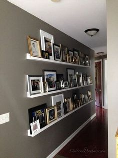 Picture of Gallery Wall Photo Ledges