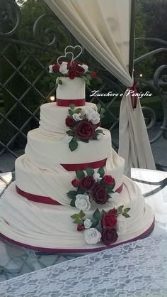 weding cake classica fiori