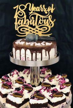 Pentru majorate unice si fabuloase Chocodor vine cu creatii pe masura Birthday Cake, Desserts, Food, Tailgate Desserts, Birthday Cakes, Deserts, Eten, Postres, Dessert