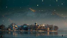 Ein romantisches Wintermärchen, das jedes Jahr Besucher von Nah und Fern aufs Neue begeistert, ist der #Christkindlmarkt auf der #Fraueninsel im #Chiemsee - Festliche Beleuchtung, feinstes Kunsthandwerk, außergewöhnliche #Geschenkideen und duftende Köstlichkeiten umrahmen den einzigartigen Inselchristkindlmarkt im Bayerischen Meer, zu dem an den ersten beiden Adventswochenenden über 90 Aussteller einladen. #Bayern #Weihnachtsmarkt #ChiemseeHotel #GolfResortAchental #News #Advent