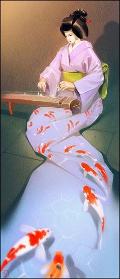 Japanese music by GaudiBuendia