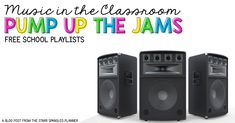 Music in the classroom. Using music playlists as a classroom management tool.
