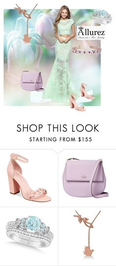 """""""Allurez 2"""" by aidaaa1992 ❤ liked on Polyvore featuring Avec Les Filles, Kate Spade and Allurez"""