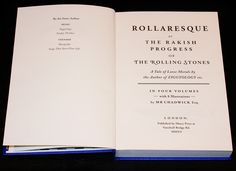 'Rollaresque or The Rakish Progress of the Rolling Stones' by Simon Goddard. Out Now, published by Ebury.  Containing a series of 8 of my illustrations with a nod to #Phiz (aka . Hablot Knight Browne), the illustrator for Dickens.  From The Illustrated World of Mr. Chadwick