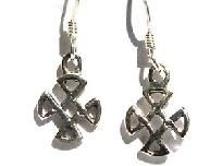 Sterling Silver Celtic Compass Dangles Earring cute & affordable. $10, plus Free Shipping!!!