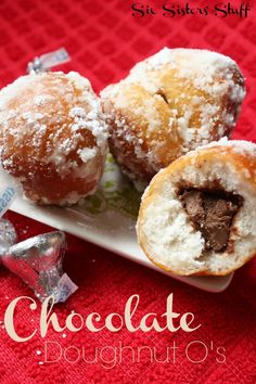 These are so delicious! We love it when the chocolate is a little melted - From sixsistersstuff.com