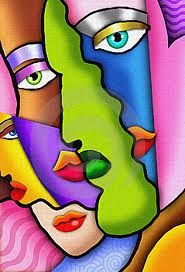 drawing abstract faces - Google Search