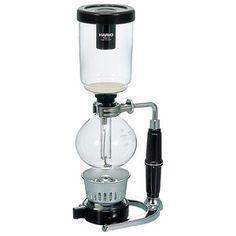 コーヒーがガラスボールを上下する抽出プロセスを目でも愉しめます。【コーヒーサイフォン テクニカ 3杯用】