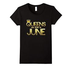 Amazon.com: Legends Queens Are Born in June T-Shirt: Clothing