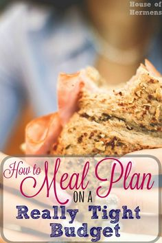 Have you ever been shocked by how high your weekly grocery bill is?  I used to overspend at the grocery store, but now my family and I have cut our grocery budget in half!  Use this meal planning method to get back on track before your next grocery trip!