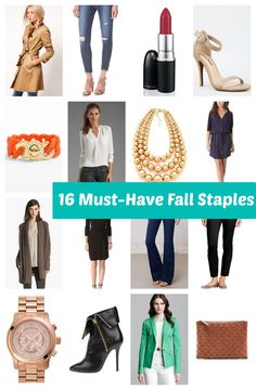 16 Wardrobe Essentials Every Woman Should Own (pin now read later)