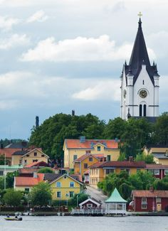 Nora, Sweden. Places In Europe, Oh The Places You'll Go, Places To Visit, Sweden Cities, Site History, Sweden House, Scandinavian Countries, Sweden Travel, World Cities
